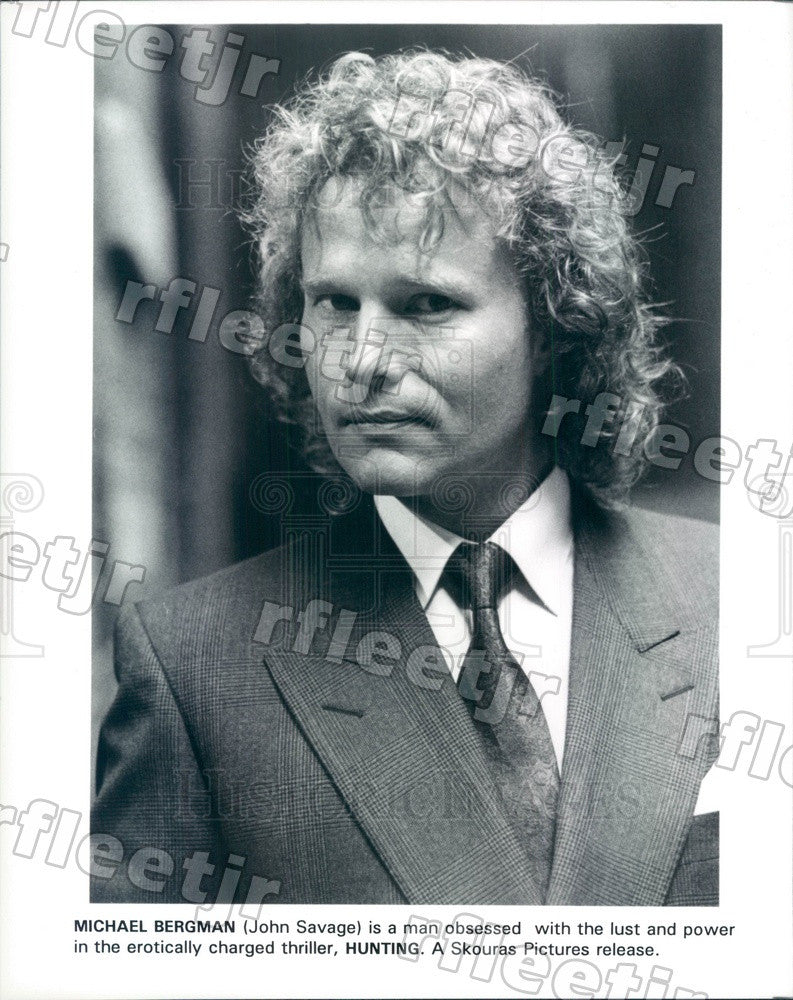 Undated Actor John Savage in Film Hunting Press Photo ady177 - Historic Images