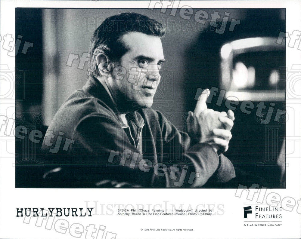 1998 American Actor Chazz Palminteri in Film Hurleyburley Press Photo ady185 - Historic Images