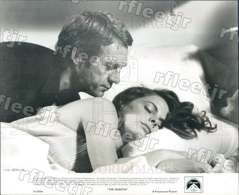 1980 American Actor Kathryn Harrold in Film The Hunter Press Photo ady189 - Historic Images