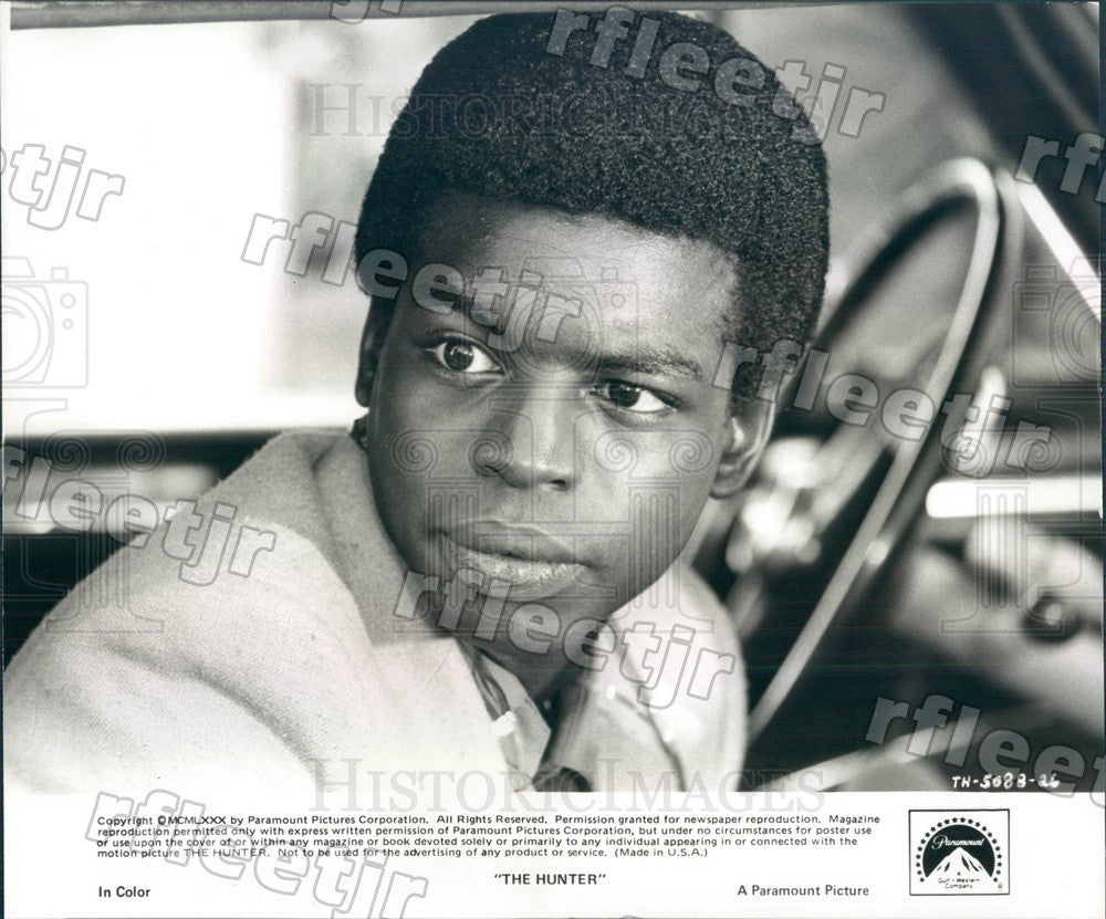 1980 Emmy Winning Actor LeVar Burton in Film The Hunter Press Photo ady191 - Historic Images