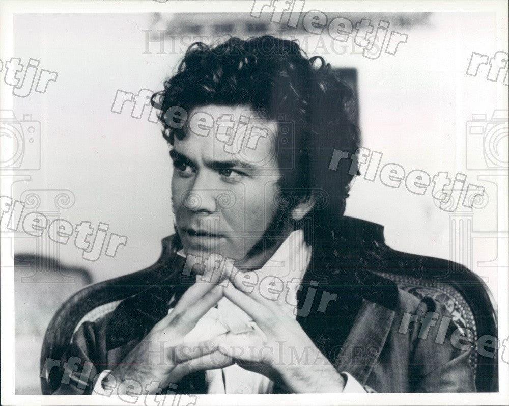 1990 Oscar Winning Actor Timothy Hutton in Torrents of Spring Press Photo ady203 - Historic Images