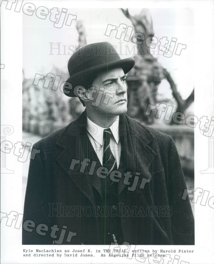 1994 American Actor Kyle MacLachlan in Film The Trial Press Photo ady225 - Historic Images