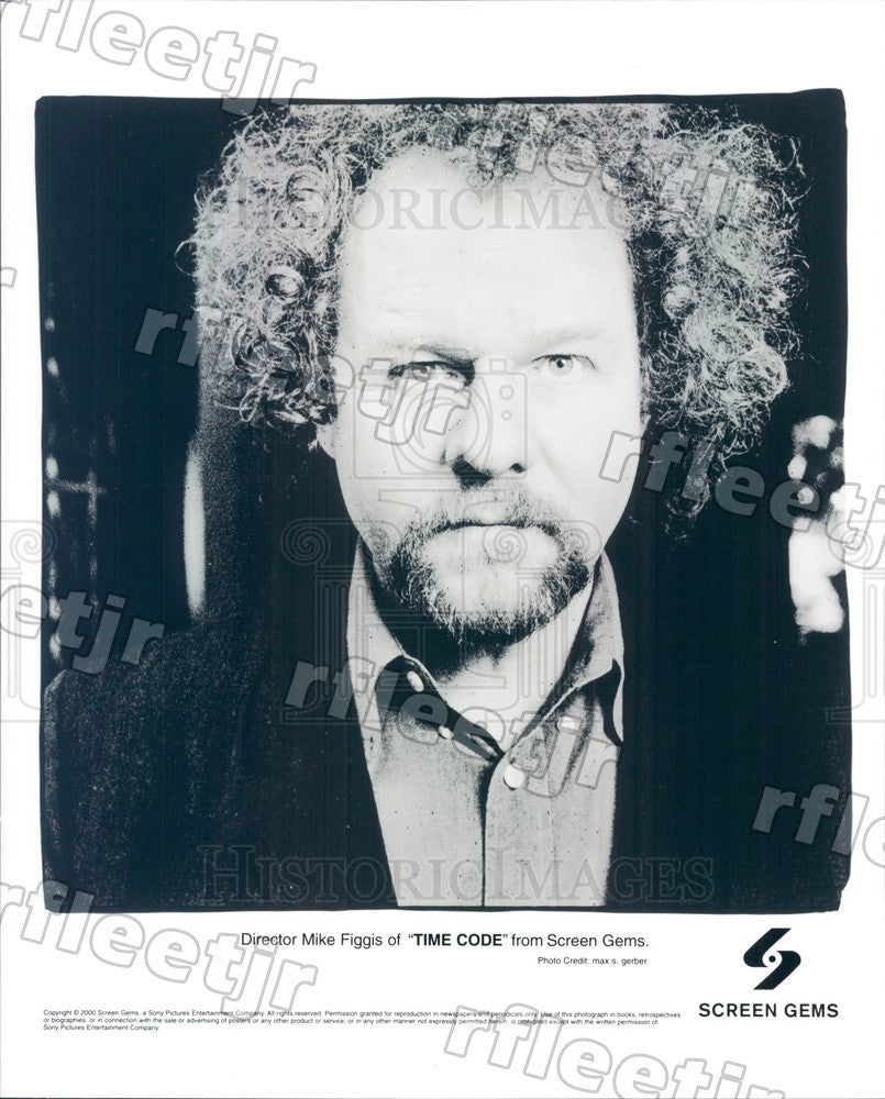 2000 British Director Mike Figgis of Film Time Code Press Photo ady339 - Historic Images
