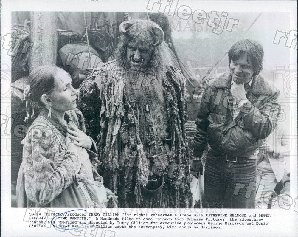 Undated Actors Katherine Helmond & Peter Vaughan Press Photo ady393 - Historic Images