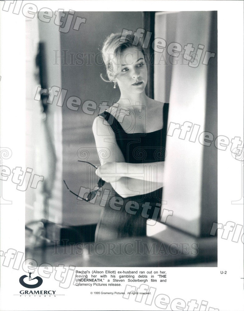 1995 American Actor Alison Elliott in Film The Underneath Press Photo ady405 - Historic Images