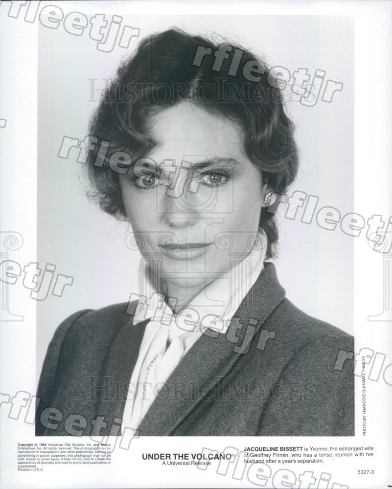 1984 British Actress Jacqueline Bissett in Under The Volcano Press Photo ady409 - Historic Images
