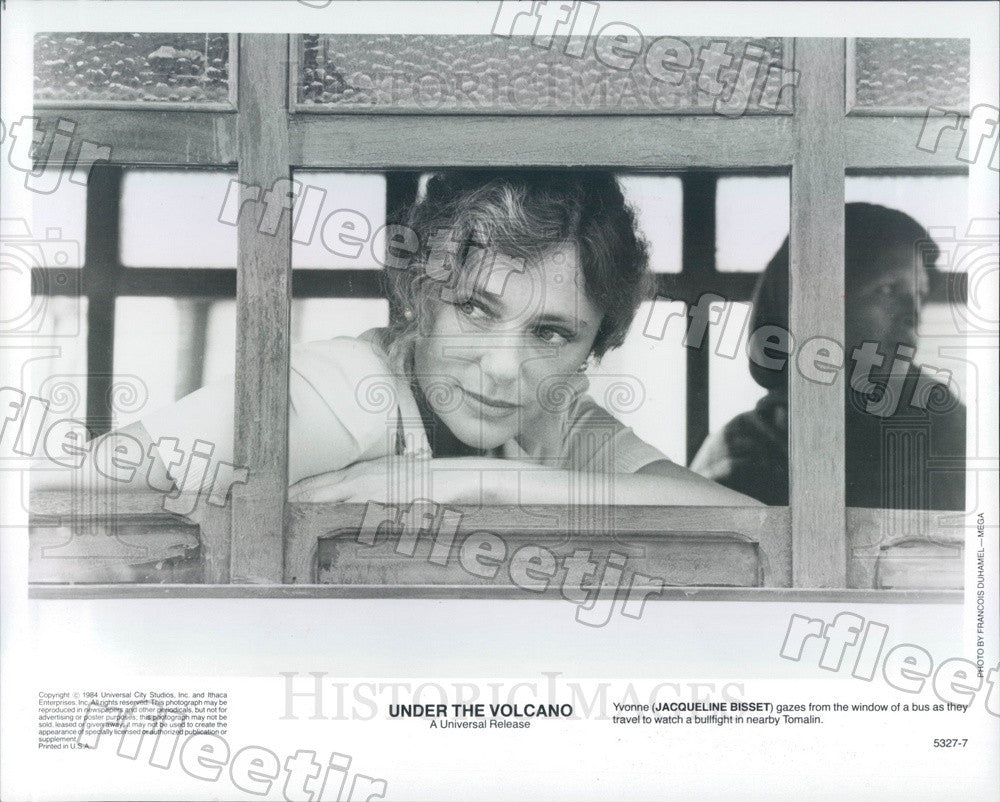 1984 British Actress Jacqueline Bissett in Under The Volcano Press Photo ady413 - Historic Images
