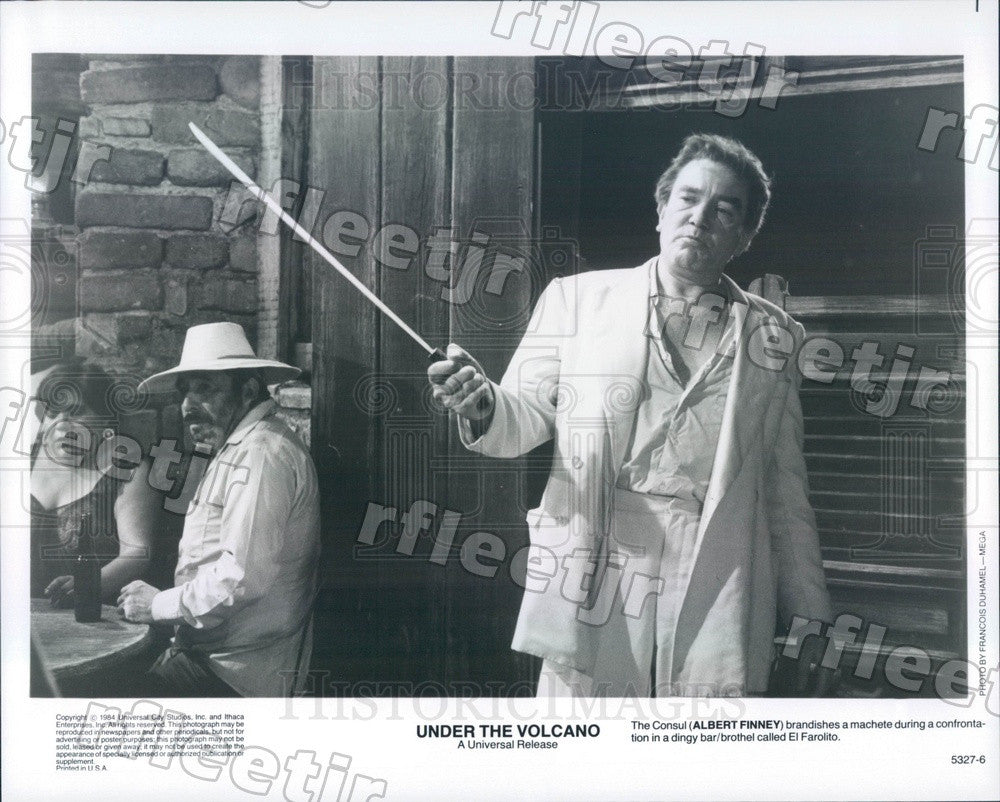 1984 Emmy Winning Actor Albert Finney in Under The Volcano Press Photo ady423 - Historic Images