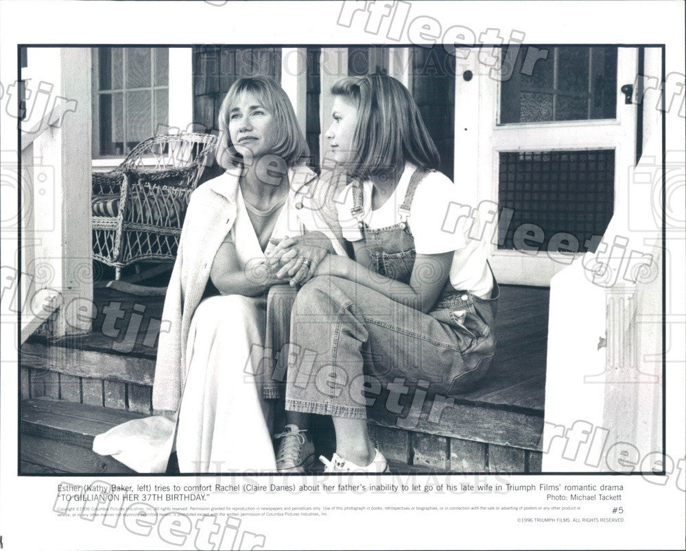 1996 Actors Kathy Baker & Emmy Winner Claire Danes in Film Press Photo ady463 - Historic Images