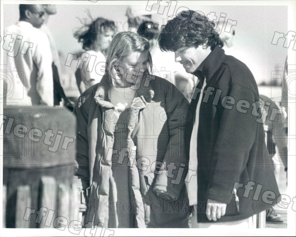 Undated Actors Peter Gallagher & Emmy Winner Claire Danes Press Photo ady469 - Historic Images