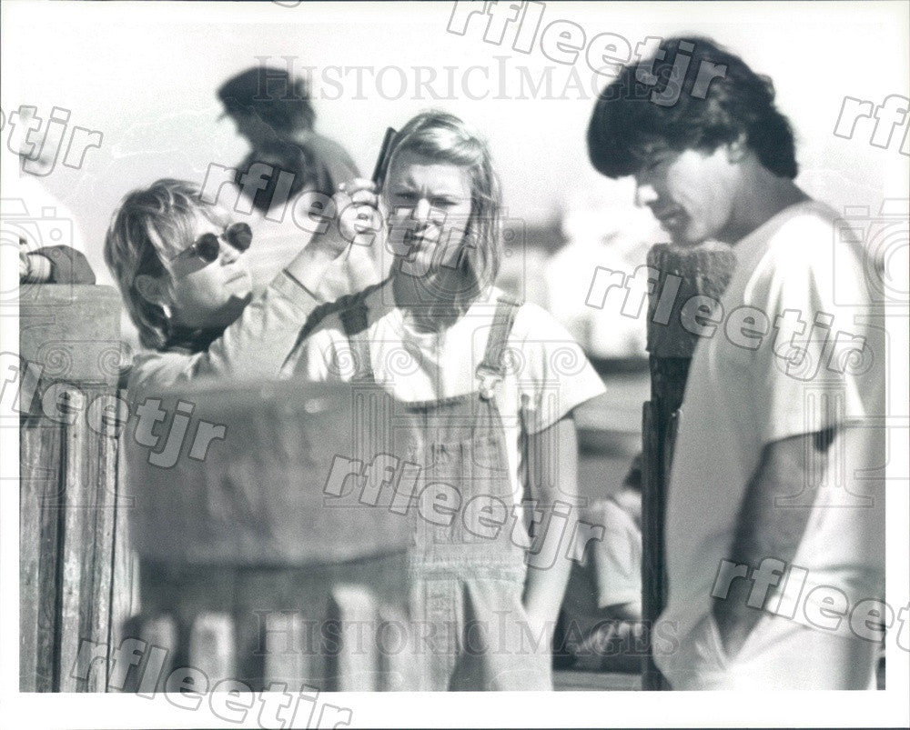 Undated Actors Peter Gallagher & Emmy Winner Claire Danes Press Photo ady471 - Historic Images
