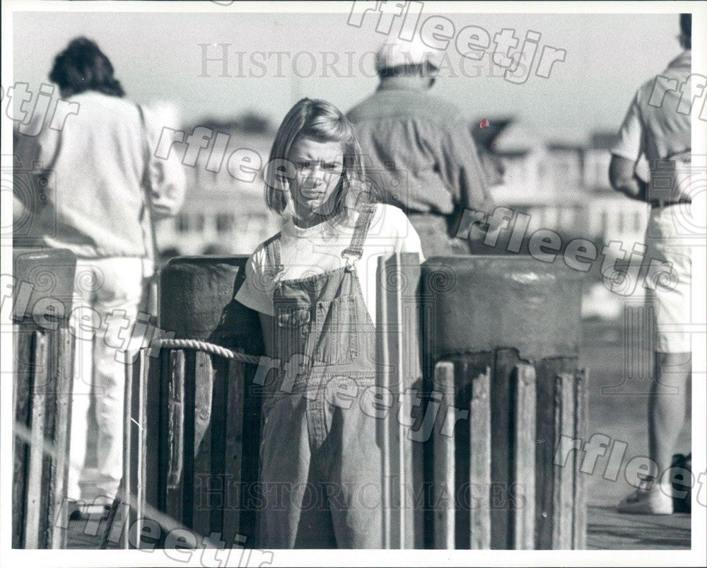 Undated Emmy Winning Actor Claire Danes in Film To Gillian Press Photo ady475 - Historic Images