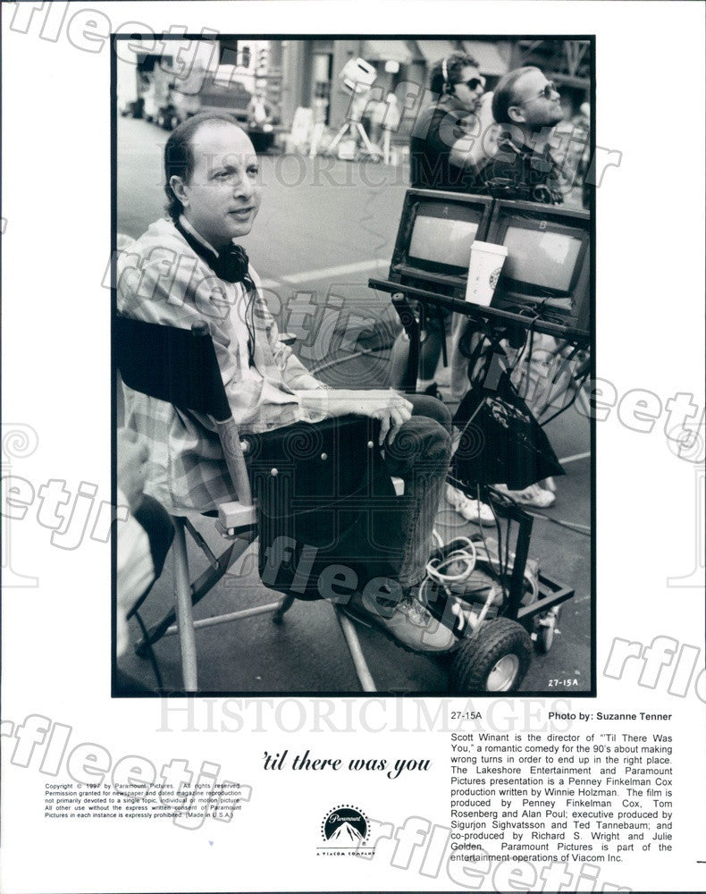 1997 Emmy Winning Director Scott Winant of Film Press Photo ady527 - Historic Images