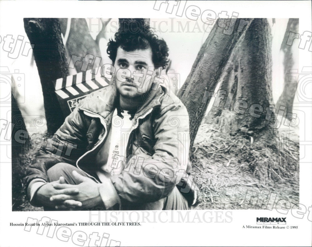 1995 Actor Hossein Rezai in Film Through The Olive Trees Press Photo ady543 - Historic Images