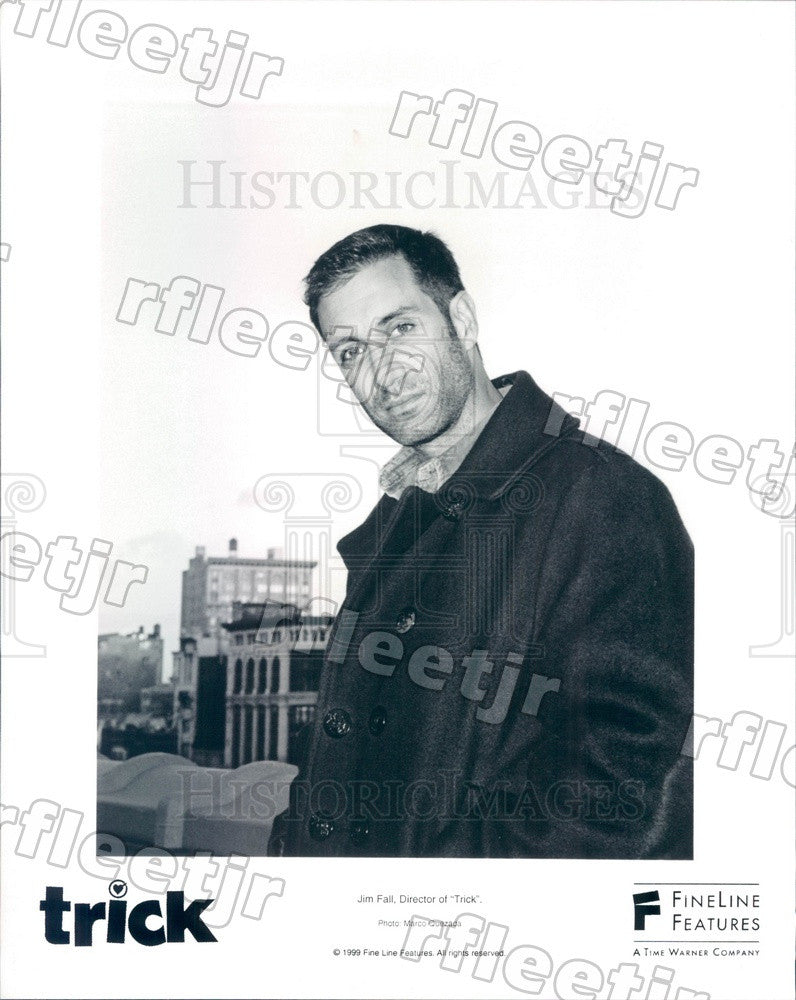1999 American Film Director Jim Fall of Film Trick Press Photo ady545 - Historic Images