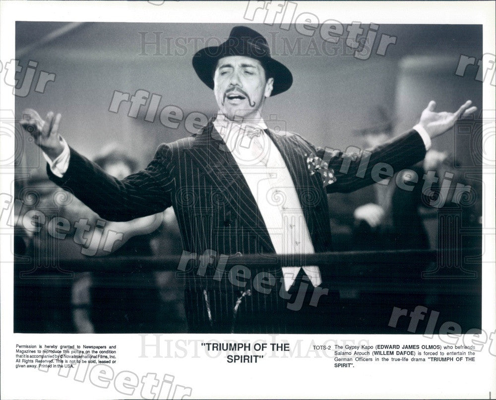 Undated Actor Edward James Olmos in Triumph Of The Spirit Press Photo ady563 - Historic Images