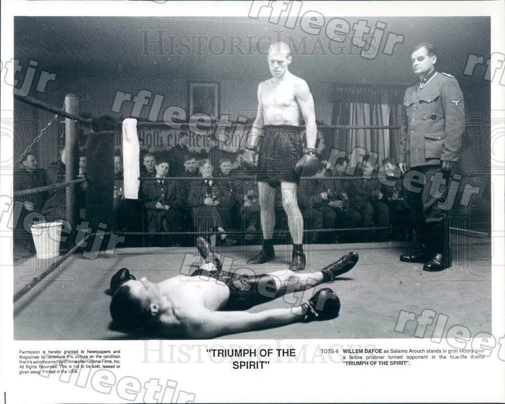 Undated Actor Willem Dafoe in Film Triumph Of The Spirit Press Photo ady571 - Historic Images