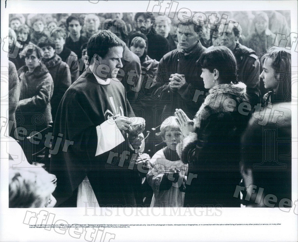 1987 Scene From Film To Kill A Priest Press Photo ady619 - Historic Images