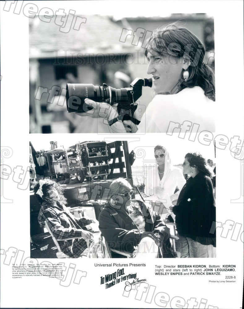 1995 Actors Patrick Swayze, Wesley Snipes, John Leguizamo Press Photo ady625 - Historic Images