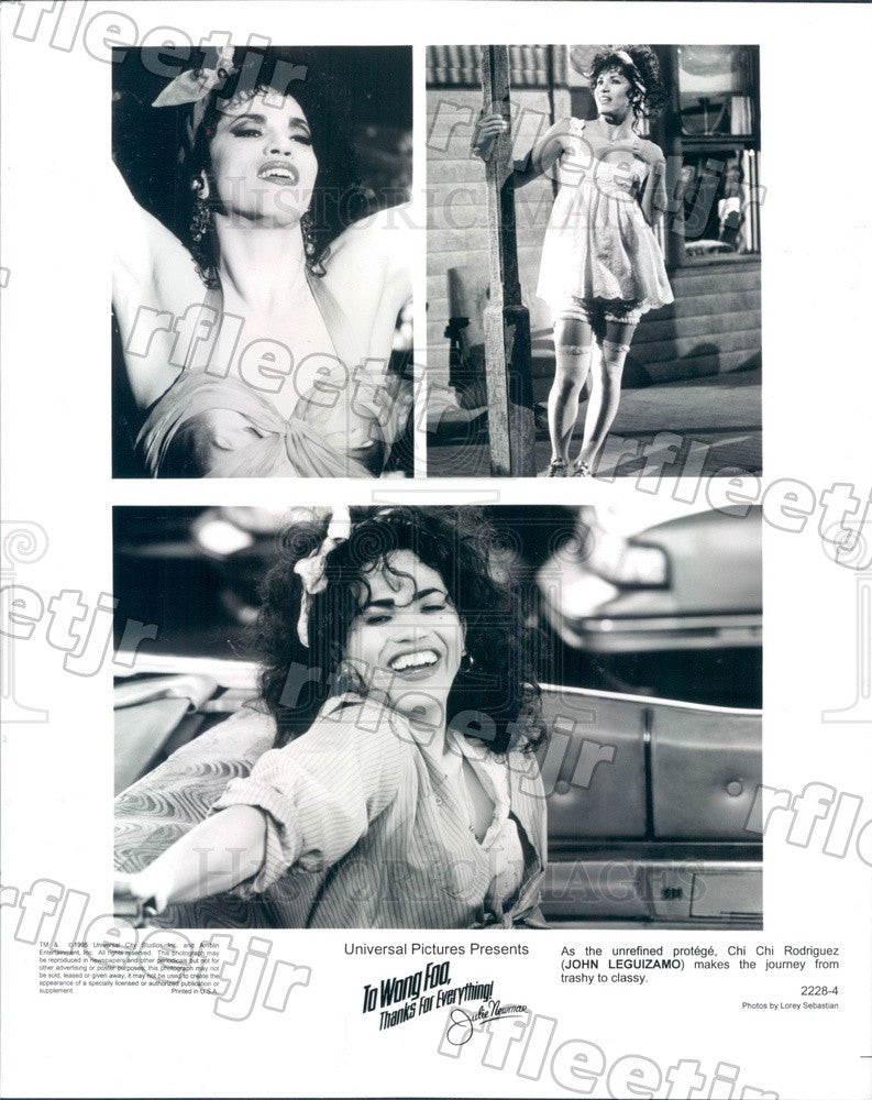 1995 Actor John Leguizamo in Film To Wong Foo Press Photo ady627 - Historic Images