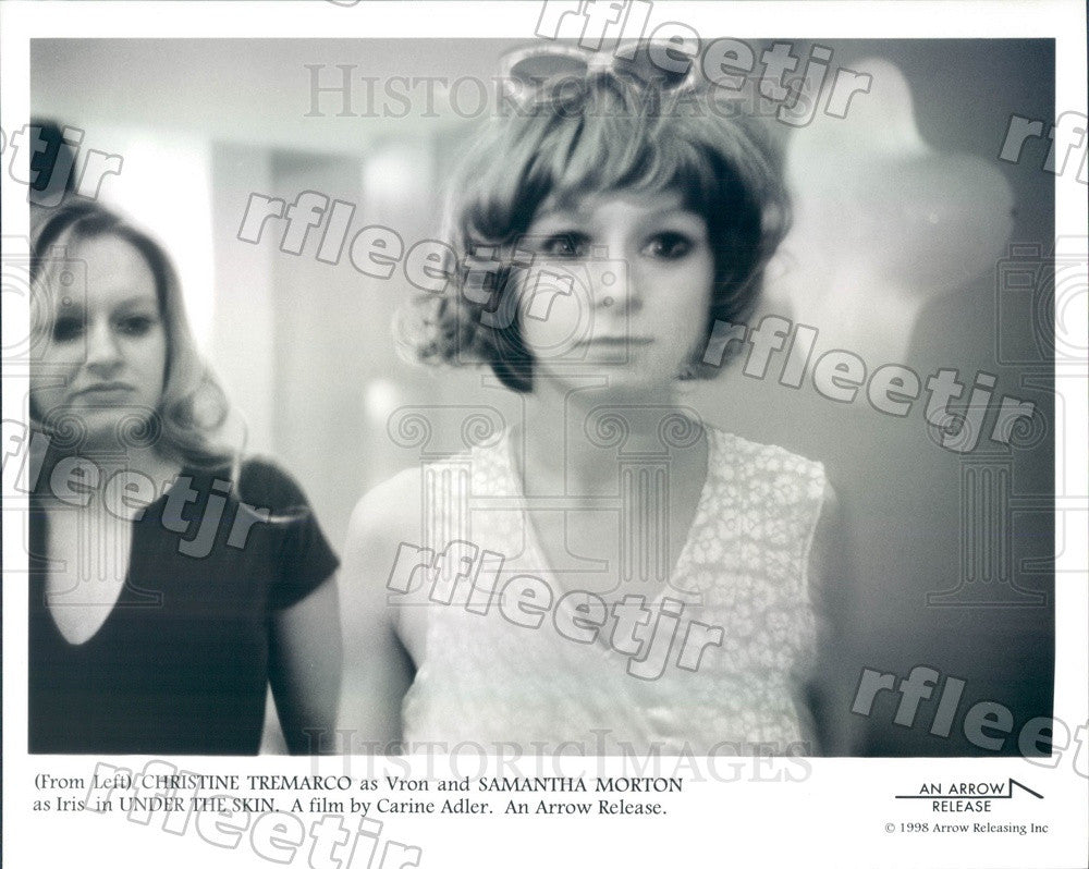 1998 Actors Samantha Morton & Christine Tremarco in Film Press Photo ady633 - Historic Images
