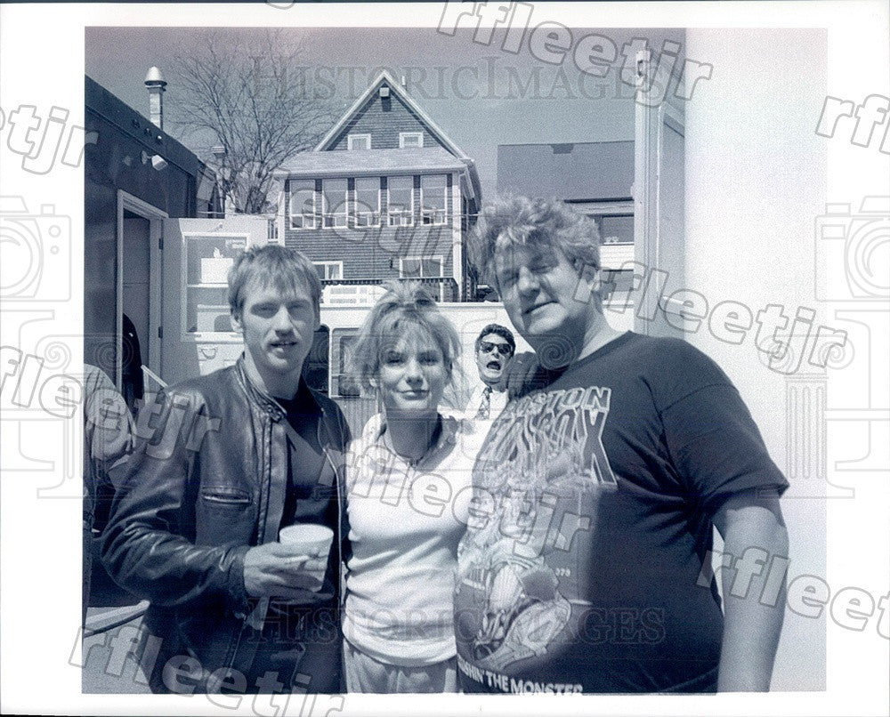 1996 Actors Denis Leary, Sandra Bullock, Lenny Clarke Press Photo ady655 - Historic Images