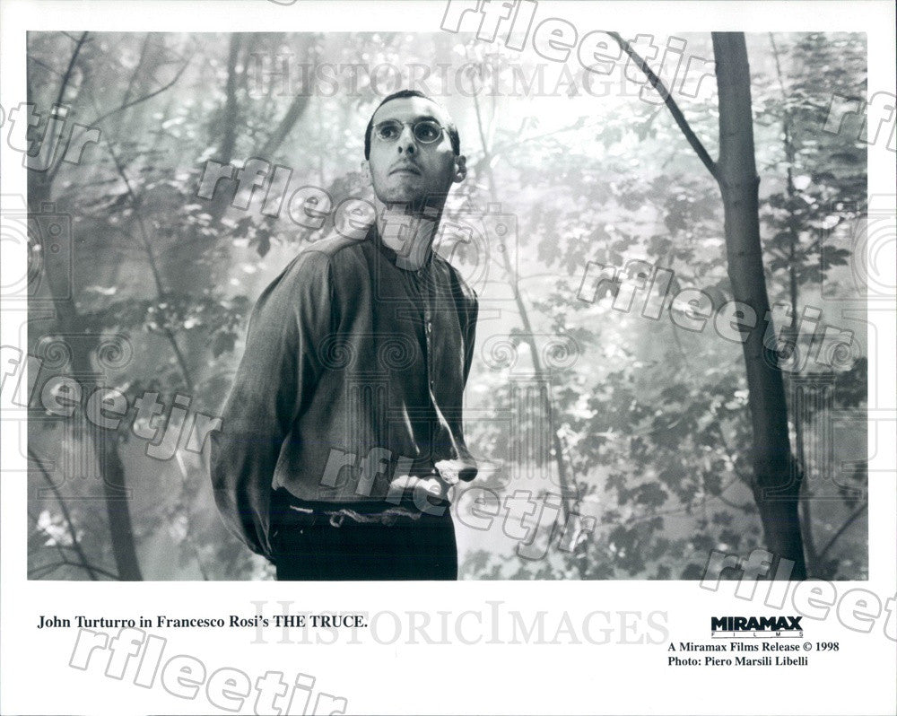 1998 Italian-American Actor John Turturro in Film The Truce Press Photo ady665 - Historic Images