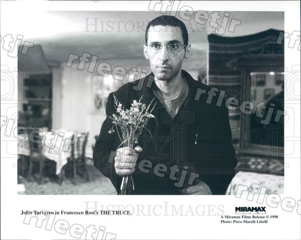 1998 Italian-American Actor John Turturro in Film The Truce Press Photo ady667 - Historic Images