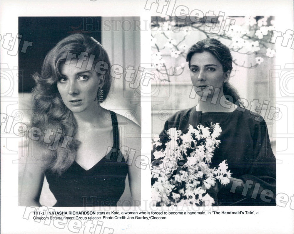 1990 Tony Winning Actor Natasha Richardson in Film Press Photo ady703 - Historic Images