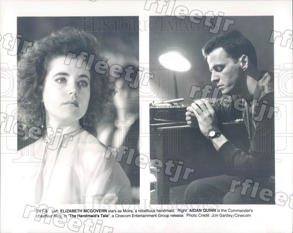 Undated Actors Elizabeth McGovern & Aidan Quinn in Film Press Photo ady707 - Historic Images