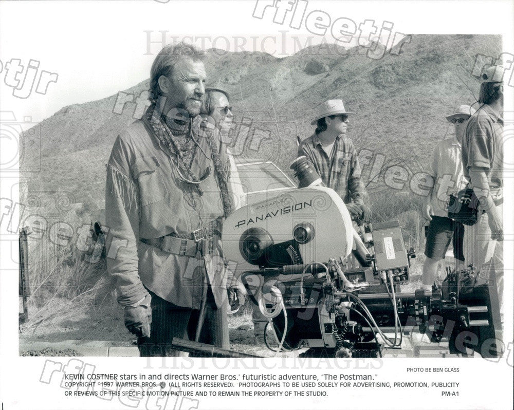 1997 Oscar Winning Actor, Director Kevin Costner Press Photo ady71 - Historic Images