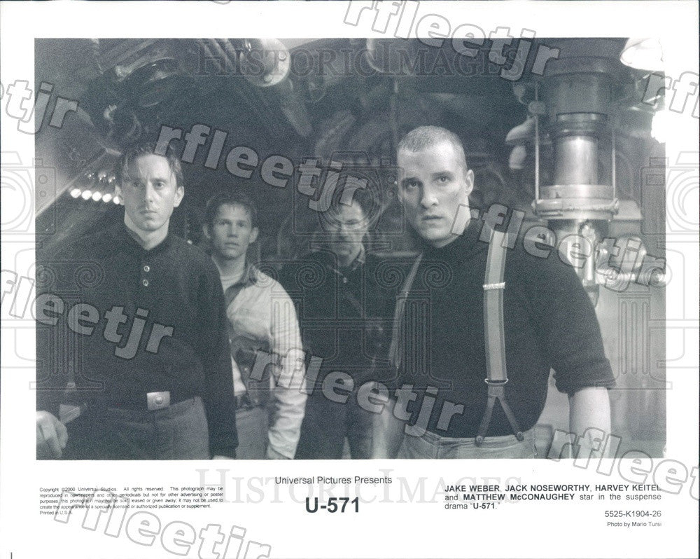 2000 Actors Jack Weber, Jack Noseworthy, Matthew McConaughey Press Photo ady735 - Historic Images