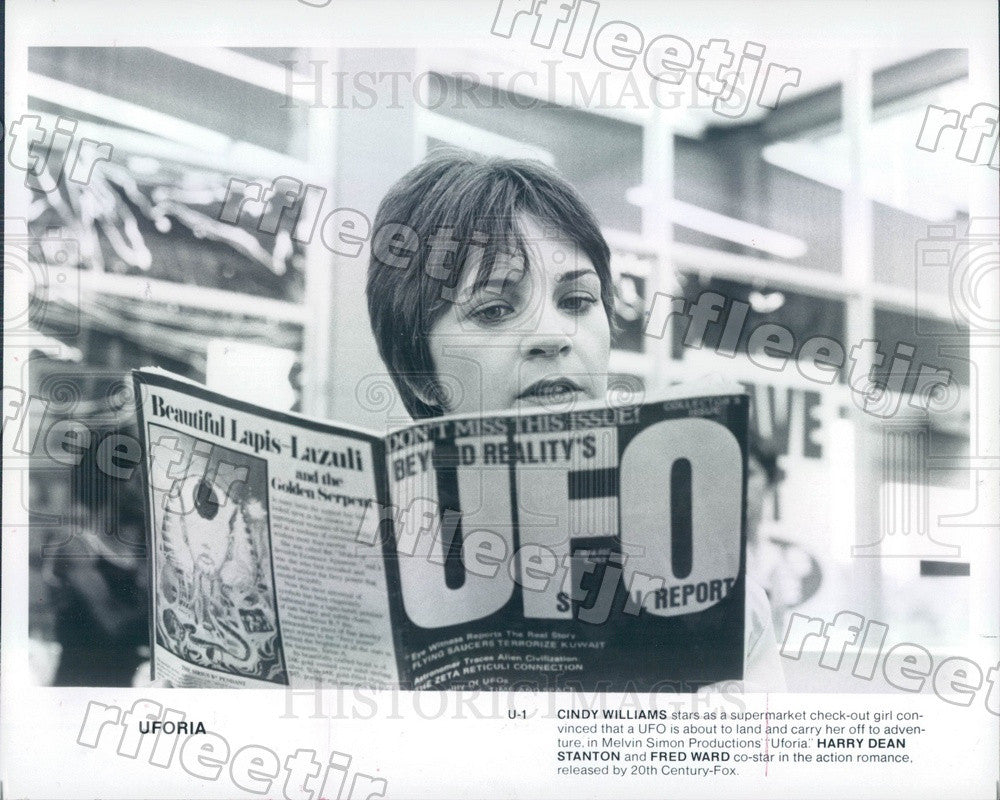 Undated Actress Cindy Williams in Film Uforia Press Photo ady737 - Historic Images