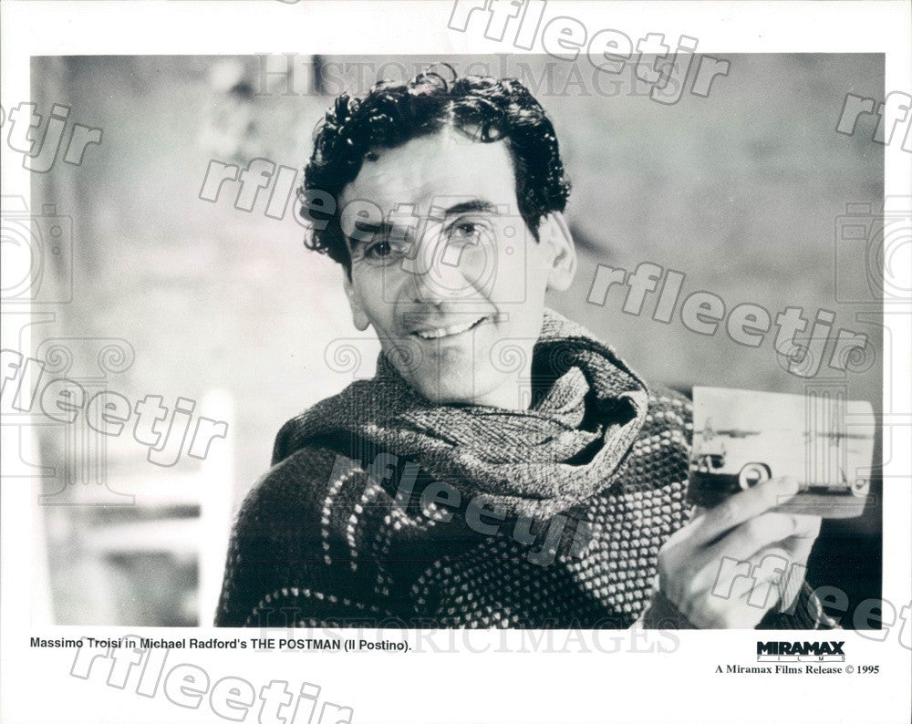 1995 Italian Actor Massimo Troisi in Film Il Postino Press Photo ady77 - Historic Images