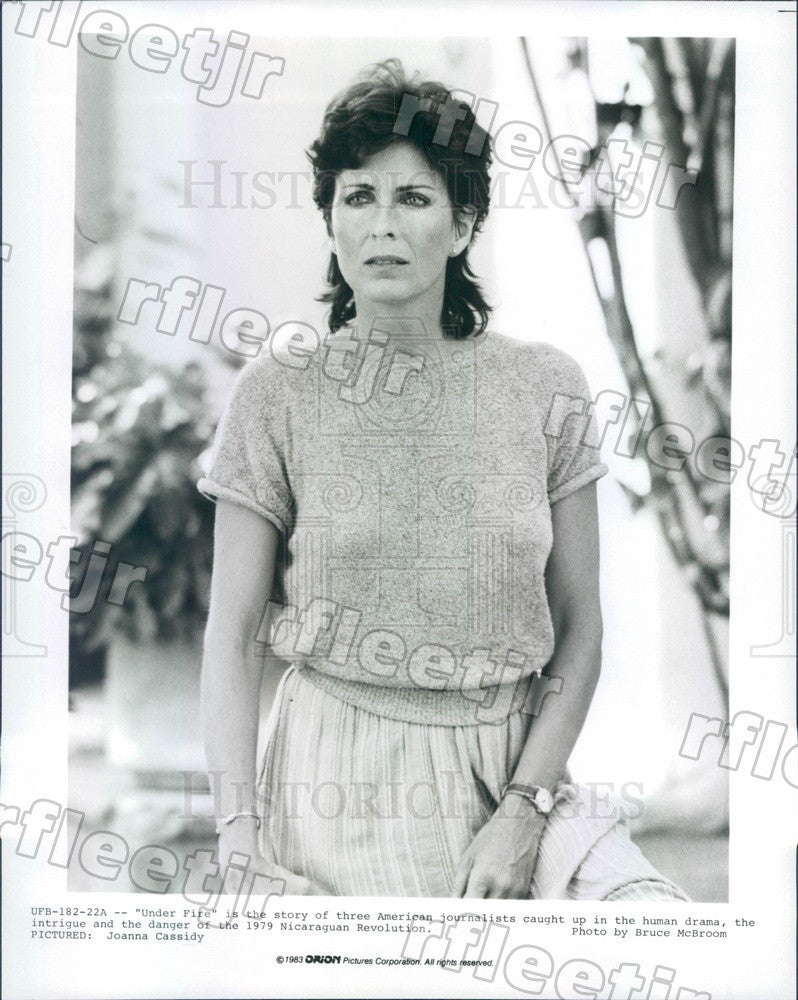 1983 American Actor Joanna Cassidy in Film Under Fire Press Photo ady785 - Historic Images