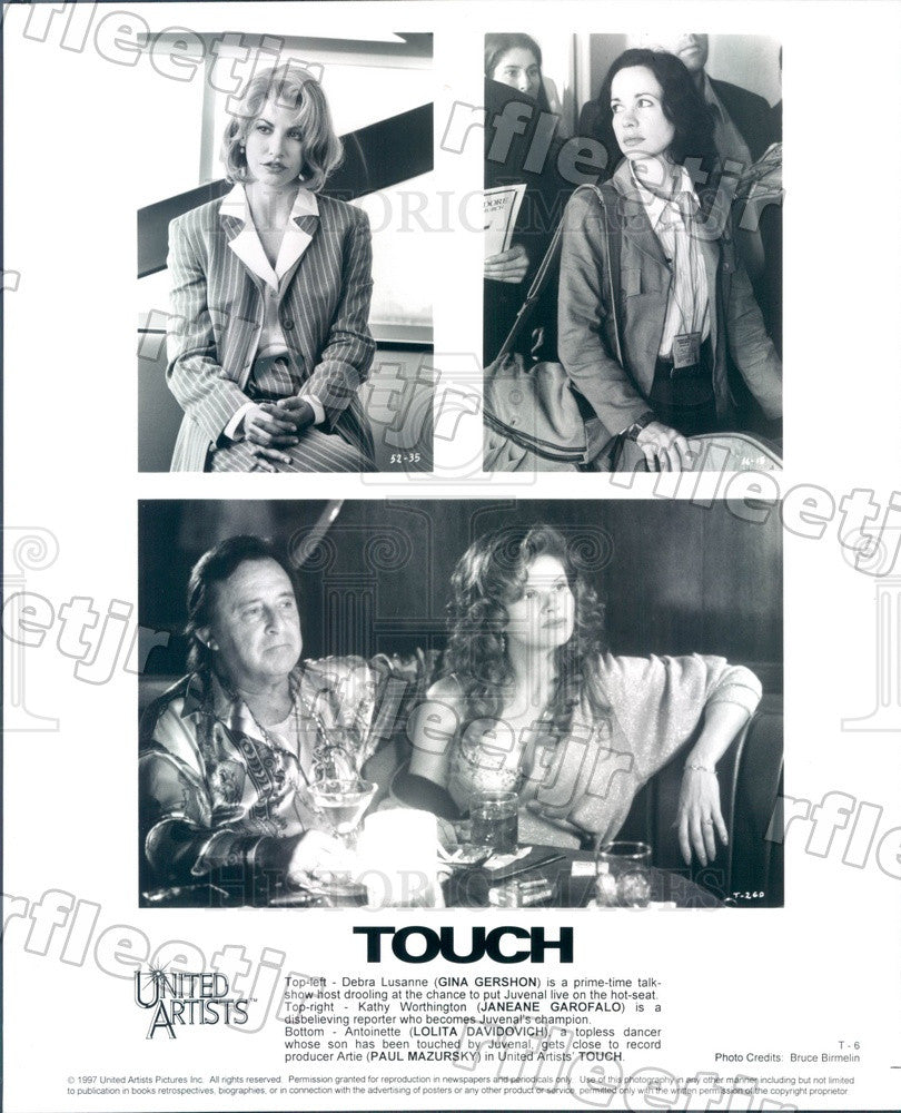 1997 Actors Gina Gershon, Janeane Garofalo, Lolita Davidovich Press Photo ady809 - Historic Images