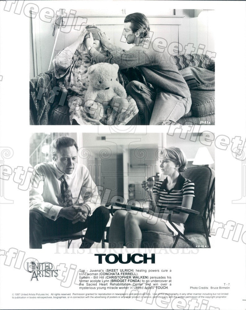 1997 Actor Skeet Ulrich, Conchata Ferrell, Christopher Walken Press Photo ady815 - Historic Images