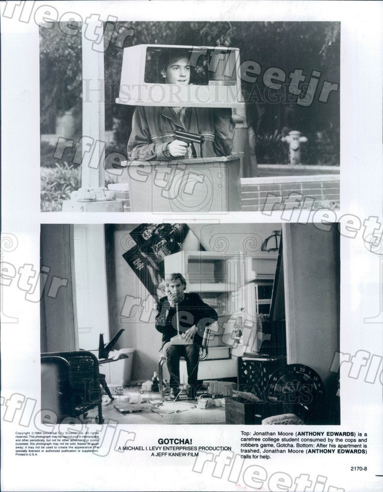 1984 American Actor Anthony Edwards in Film Gotcha Press Photo ady845 - Historic Images