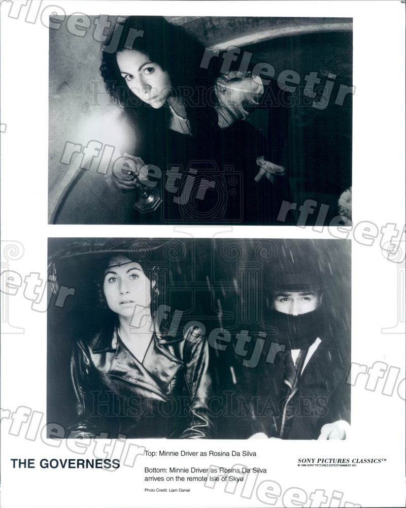 1998 British Actress Minnie Driver in Film The Governess Press Photo ady847 - Historic Images
