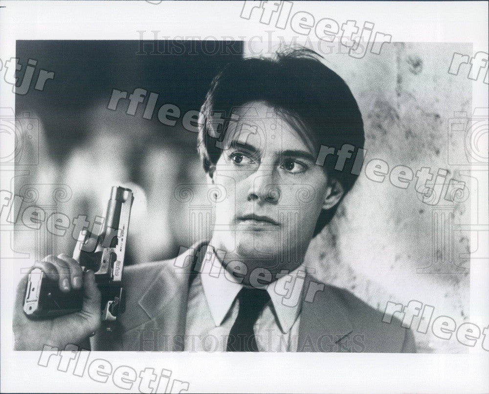 Undated Hollywood Actor Kyle MacLachlan in Film The Hidden Press Photo ady855 - Historic Images