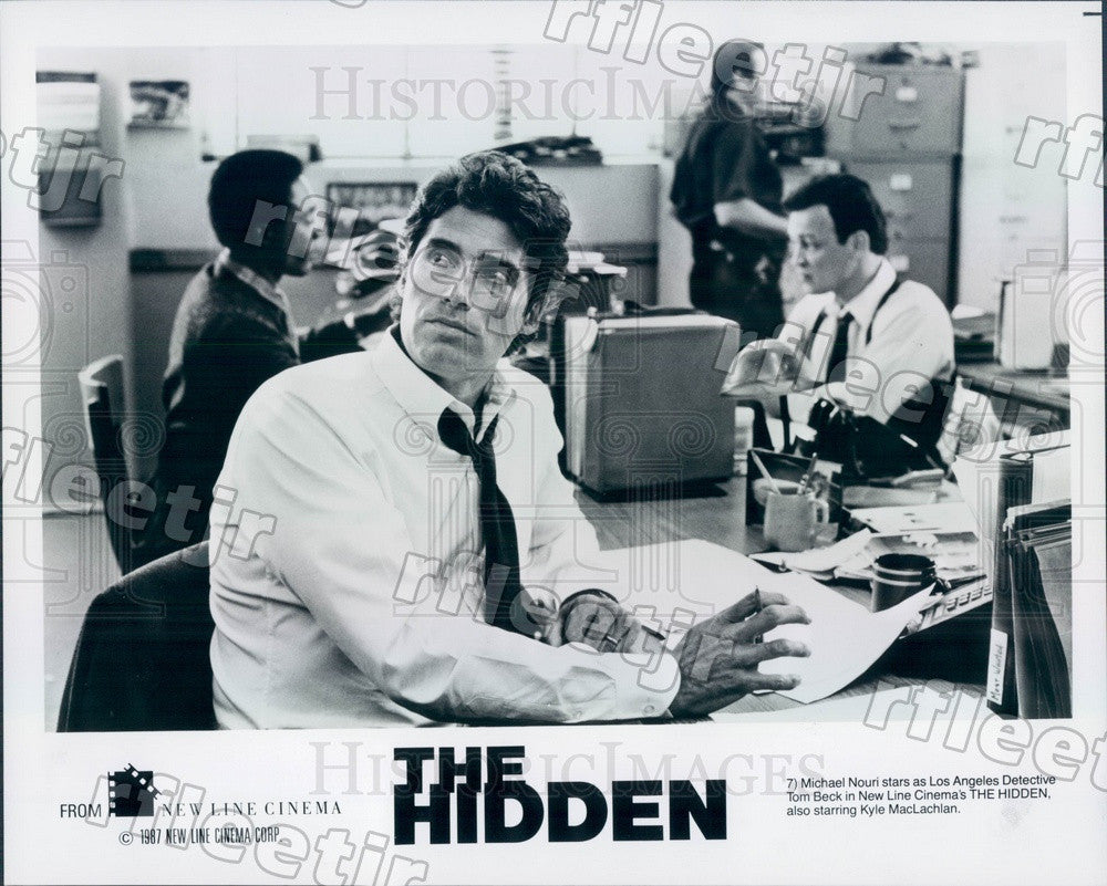 1987 American Actor Michael Nouri in Film The Hidden Press Photo ady857 - Historic Images