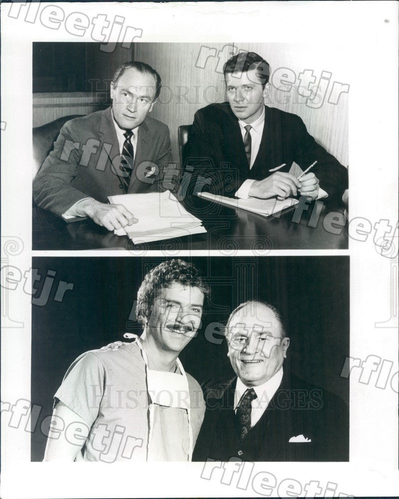 1982 Actors Robert Reed & EG Marshall on TV Shows Nurse Press Photo ady885 - Historic Images