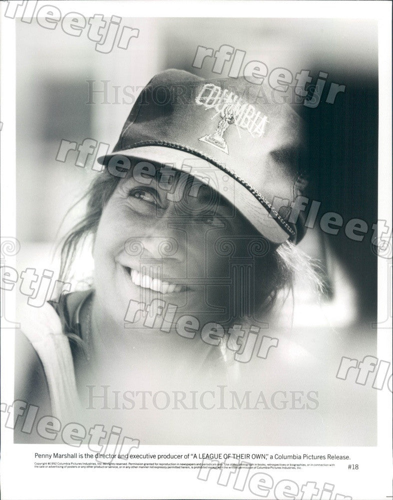 1992 Director, Producer Penny Marshall of Film Press Photo ady9 - Historic Images