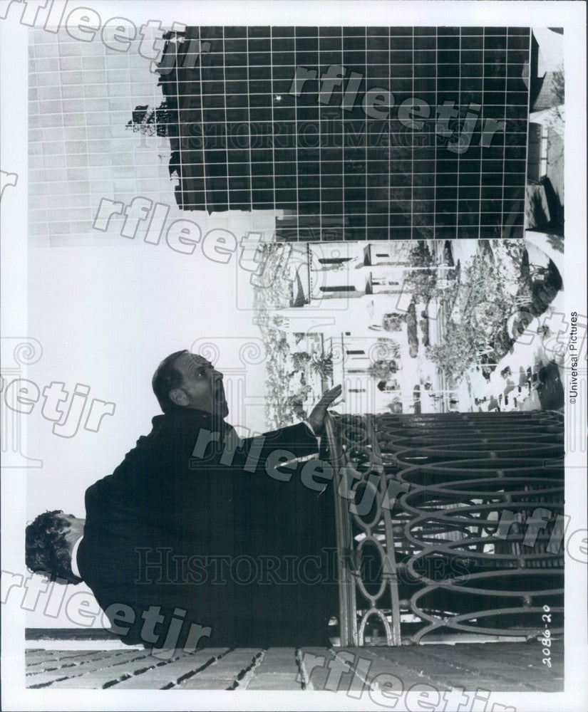 Undated Emmy Winning Actor Jack Klugman in Film Press Photo ady917 - Historic Images