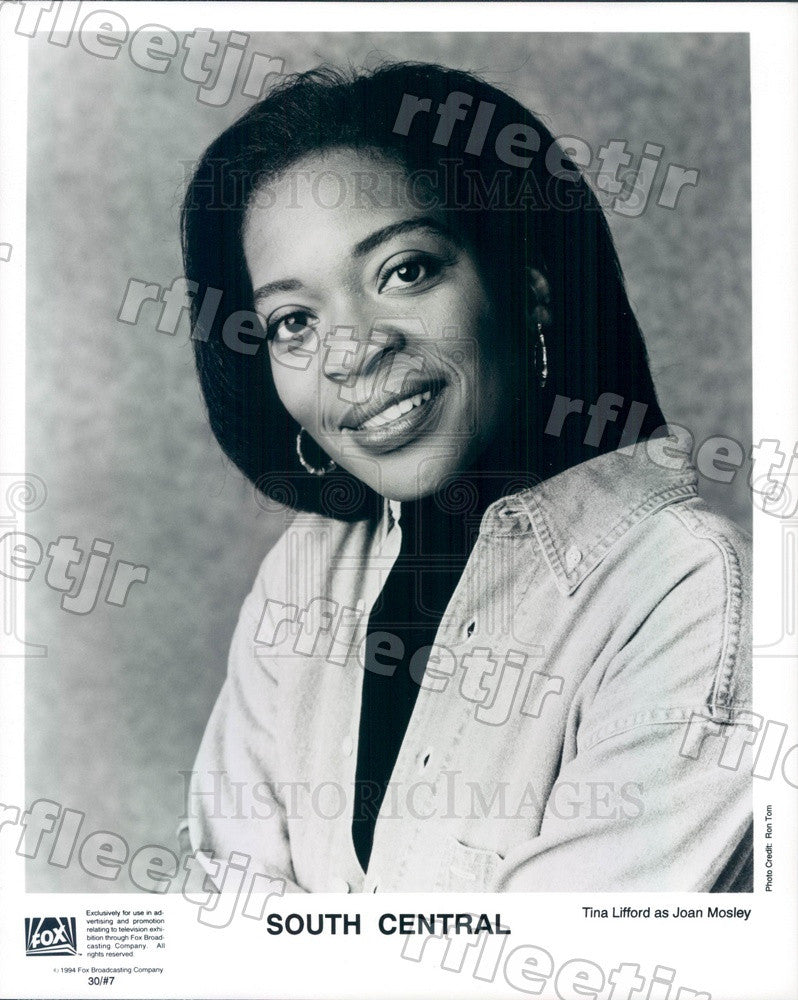 1994 Actress Tina Lifford on TV Show South Central Press Photo adz105 - Historic Images