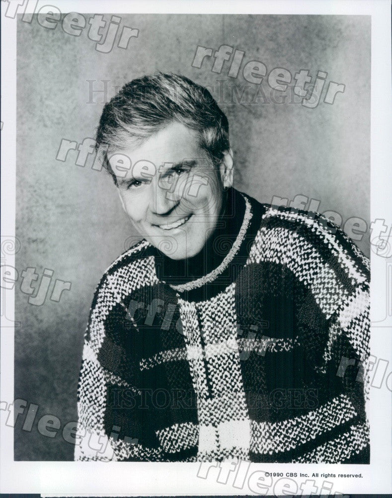 1990 American Actor Don Murray on TV Show Sons And Daughters Press Photo adz181 - Historic Images