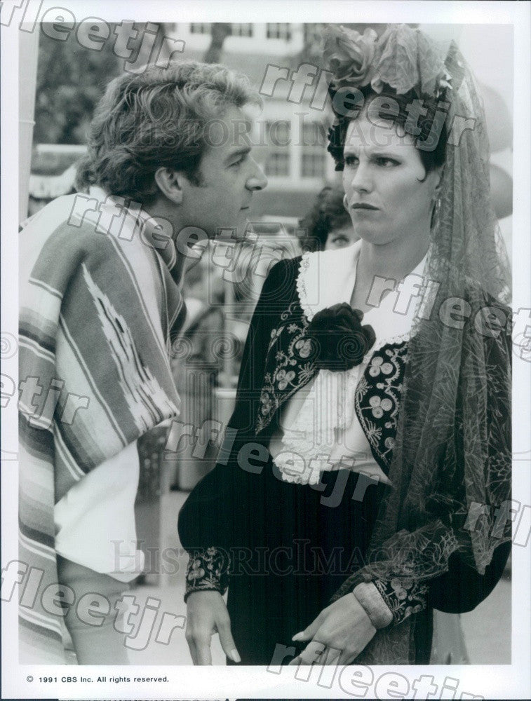 1991 Actors Lucie Arnaz & Kevin Kilner on Sons And Daughters Press Photo adz187 - Historic Images