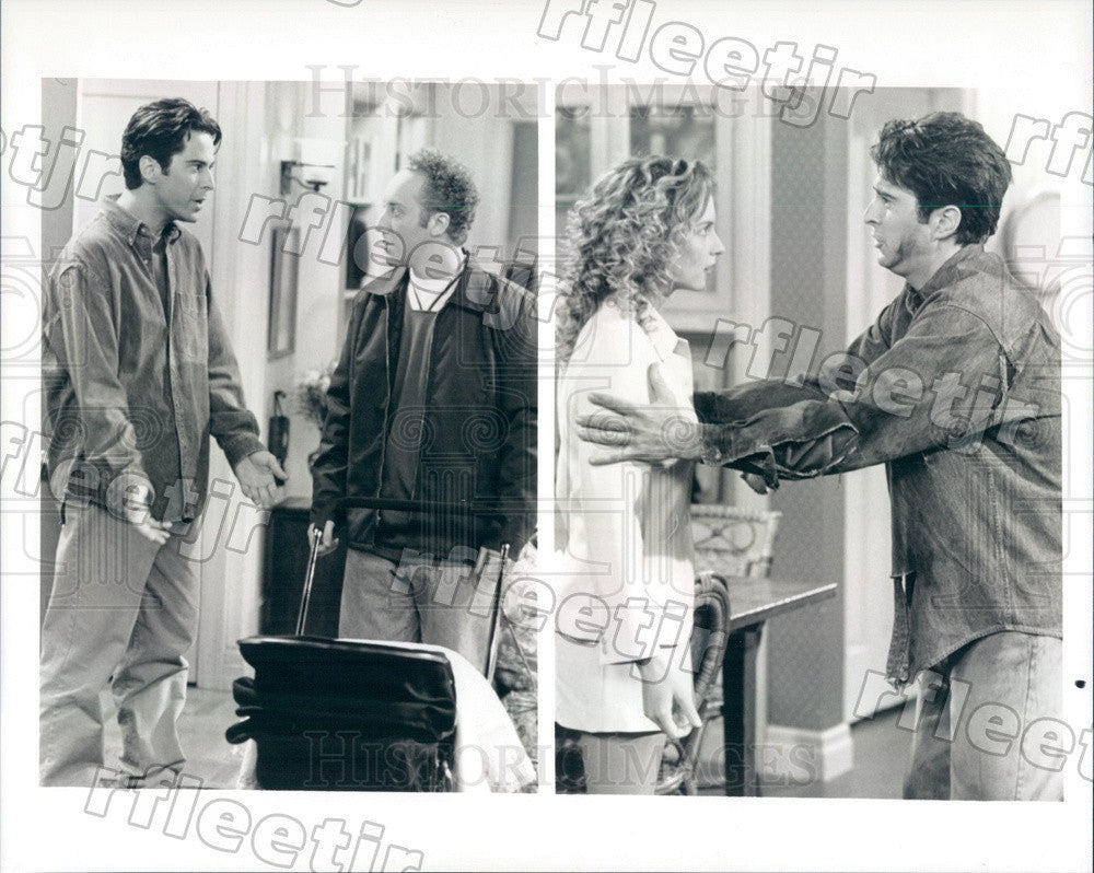 Undated Actor Jonathan Silverman/Joey Slotnick/Jensen Daggett Press Photo adz227 - Historic Images