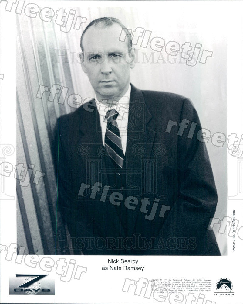1998 American Actor Nick Searcy on TV Show Seven Days Press Photo adz259 - Historic Images