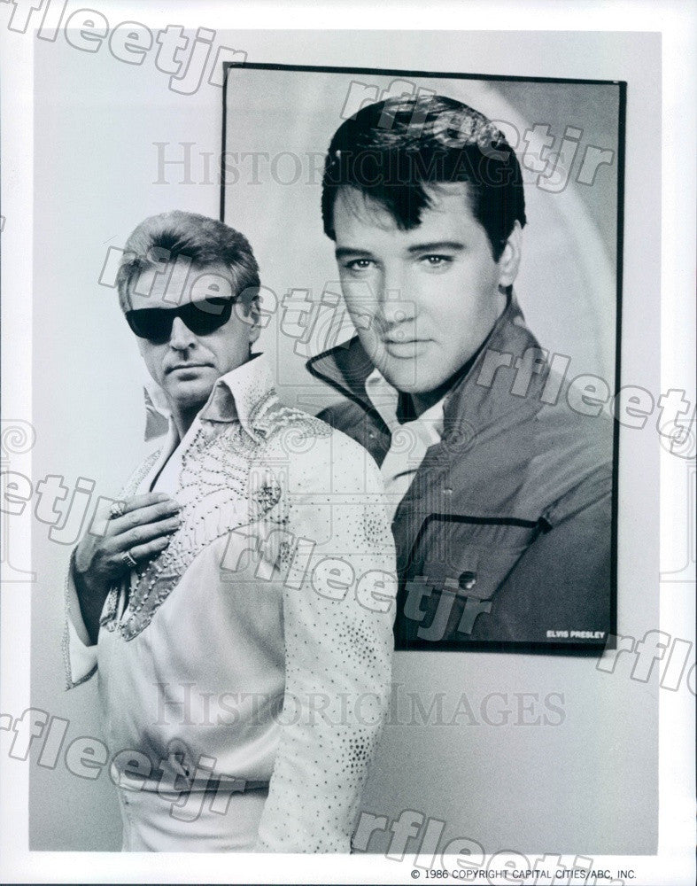 1986 Actor David Rasche on TV Show Sledge Hammer! Press Photo adz459 - Historic Images